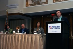 A VMFP panel discussion gets underway at the 2009 Biennial conference in Arlington, VA.